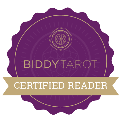 Biddy Tarot Certified Reader